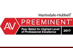 Martindale-Hubbell Peer Review Rating