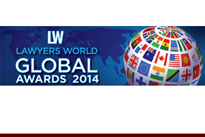 Publishing & Media Law Firm of the Year - USA, Lawyers World Global Awards, 2014