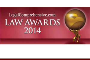 IP Unfair Competition Law Firm of the Year - USA, LegalComprehensive.com Law Awards, 2014
