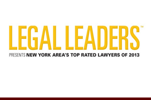 Top Rated Lawyer in Intellectual Property, ALM, Martindale-Hubbell, Corporate Counsel, 2013, for Philip Furgang